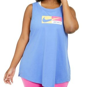Nike Plus Size Dry-Fit Workout Tank Top NEW
